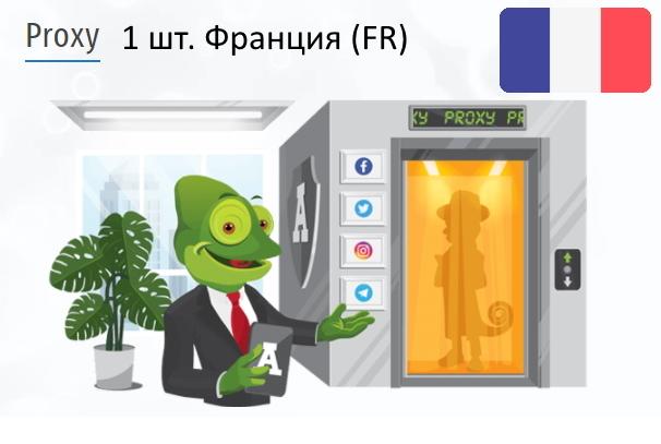 Купить Анонимный IPv4 прокси-сервер Франция (FR)