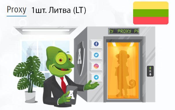 Купить Анонимный IPv4 прокси-сервер Литва (LT)