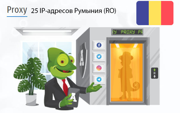 Стоимость 25 пакетных прокси Румыния (RO)