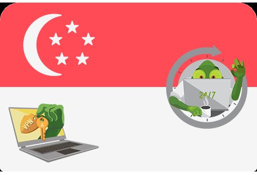 ВПН Сингапур • Singapore VPN >